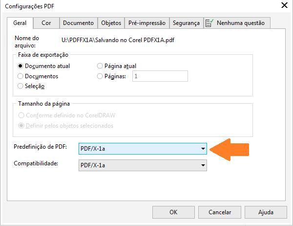 what is corel draw pdf
